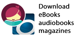 Downloadable Ebooks, audiobooks, and magazines From Overdrive